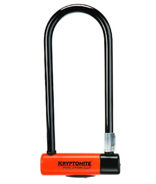 Kryptonite LOCKS U-LOCK Kryptonite Evolution LS (DD) 101x292mm 4''x11.5'' 14mm Orange