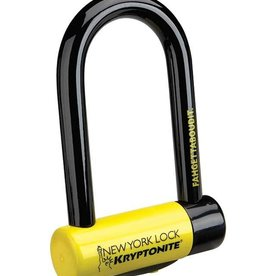 Kryptonite LOCKS U-LOCK KRYPTONITE NY FAHGETTABOUDIT MINI 3.25x6 (18mmx8.2cmx15.3cm)