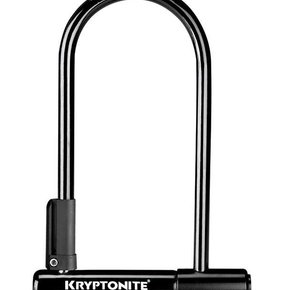 Kryptonite LOCKS U-LOCK Kryptonite, Keeper LS (DD)102x254mm, 4''x10'' 12mm Black