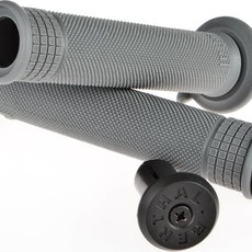 Grips Renthal, With Plugs 135mm, Dark Grey