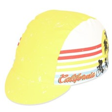 CYCLING CAP PACE Cali Dreamin Yellow - One Size