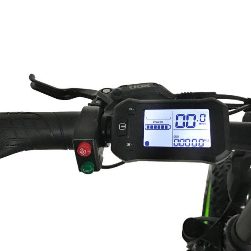 "ELECTRIC BIKE ECO MOTION E-Fat Mini Pro 20"" Black"