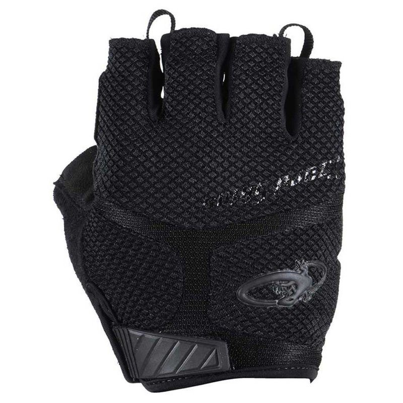 Lizard Skins GLOVES SHORT FINGER LIZARD ARAMUS GC MD BK/N-YL