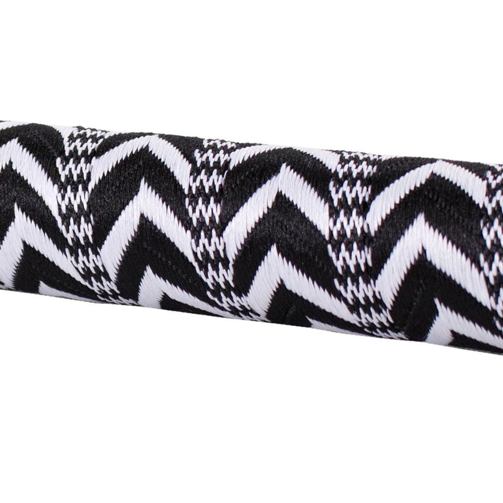 HANDLEBAR TAPE & PLUGS SERFAS RIBBON FINISH BLACK/WHITE ARROW