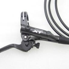 Shimano DISC-BRAKE SET, XT M8000 LEFT/FRONT, METAL W/FIN