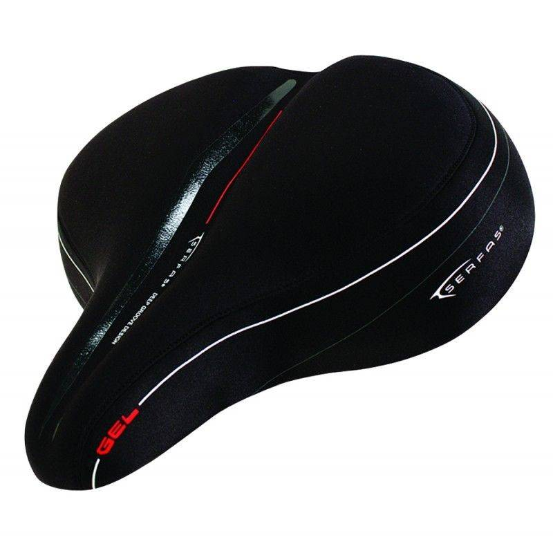 Serfas FULL SUSPENSION CRUISER SADDLE - LYCRA