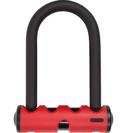 ABUS LOCKS U-Lock ABUS U-Mini 40 Red 5.5 inch 14mm Round Shackle