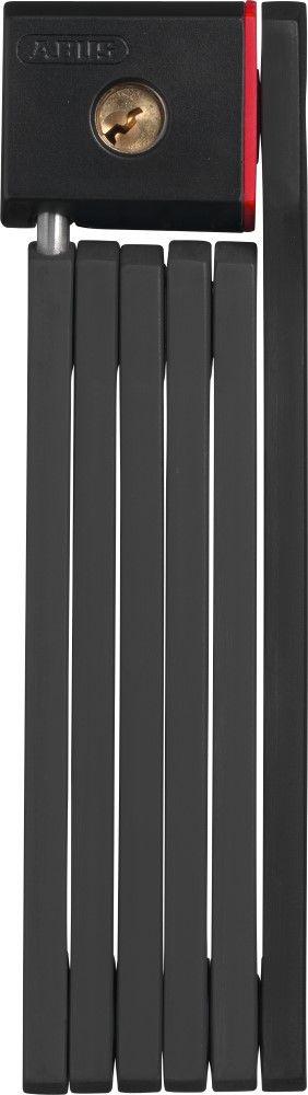 ABUS LOCKS BORDO FOLDING ABUS 5700/80 black 80cm length / 5mm plates