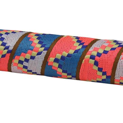 HANDLEBAR TAPE & PLUGS SERFAS RIBBON FINISH CORAL, TEAL, BEIGE, PINK AZTEC DESIGN