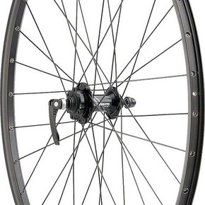 "Quality Wheels WHEELS 29"" Quality Wheels Disc FRONT SRAM 406 6-bolt / Sun SR25 Black"