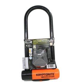 Kryptonite U-LOCK KRYPTONITE EVOLUTION MINI-9 LS 3.25x9.5 wBRKT (H)