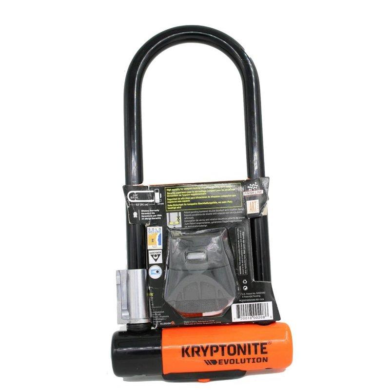Kryptonite LOCKS U-LOCK KRYPTONITE EVOLUTION MINI-9 LS 3.25x9.5 wBRKT (H)
