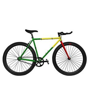 BIKES ZYCLE FIX FIXED GEAR RASTAFARI 55cm