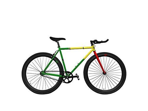 BIKES ZYCLE FIX FIXED GEAR RASTAFARI 55cm