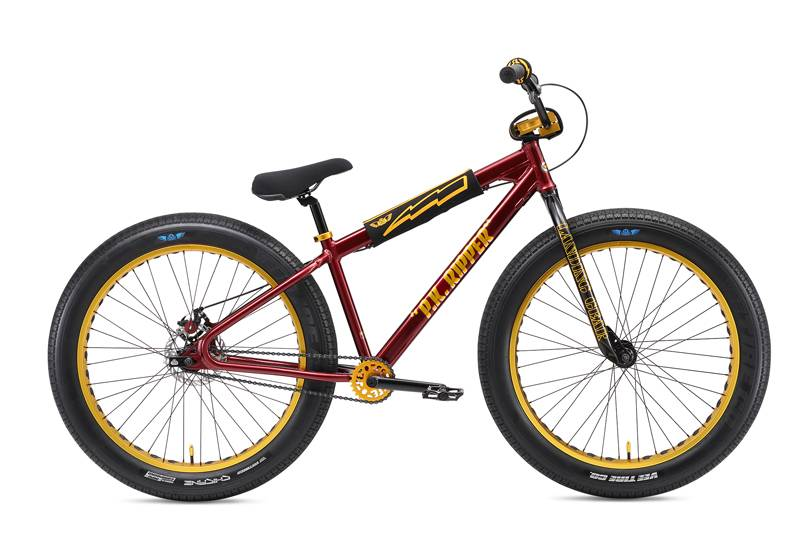 SE BIKES BIKES 2018 SE FAT RIPPER 26 MAROON SPARKLE 26in