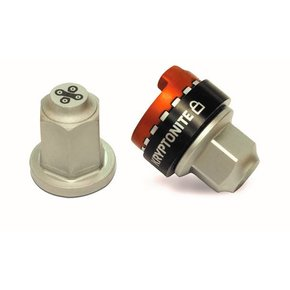 Kryptonite WHEEL LOCK KRYPTONITE Security Wheelnutz Solid Axle Locking Nuts Size M9
