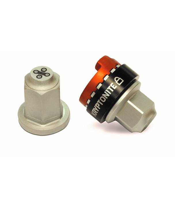 Kryptonite WHEEL LOCK KRYPTONITE Security Wheelnutz Solid Axle Locking Nuts Size M9