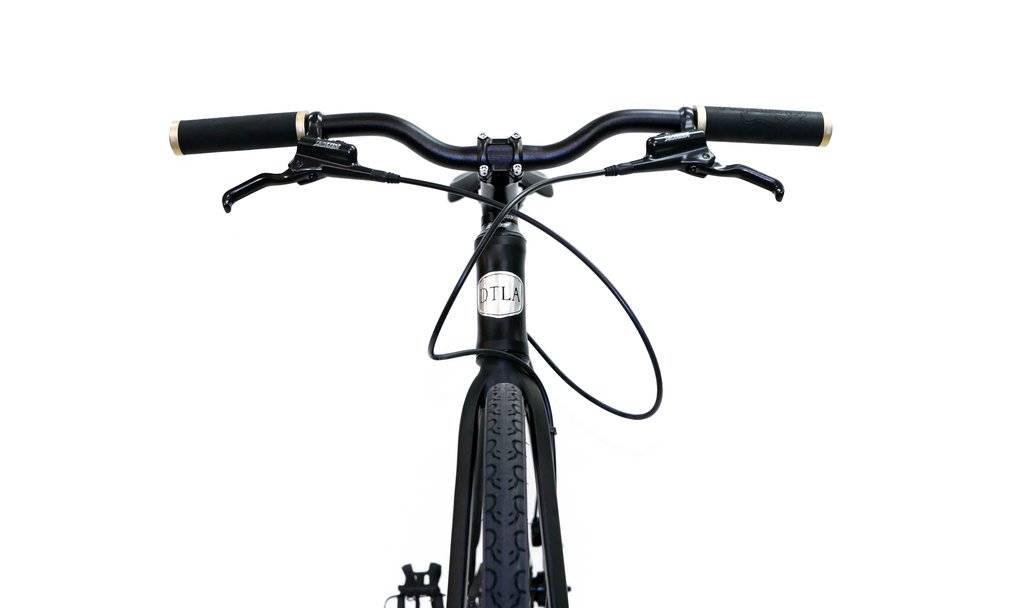 "BICICLETAS 2018 DTLA RAMBAM commuter hidráulico/disco freno negro MATTE 23.2  ""/59cm"
