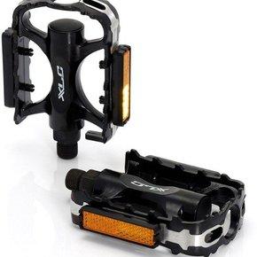 PEDALS 9/16 XLC Alloy MTB/Trekking Black
