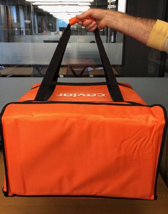 THERMAL BAGS CAVIAR Car Bag Orange