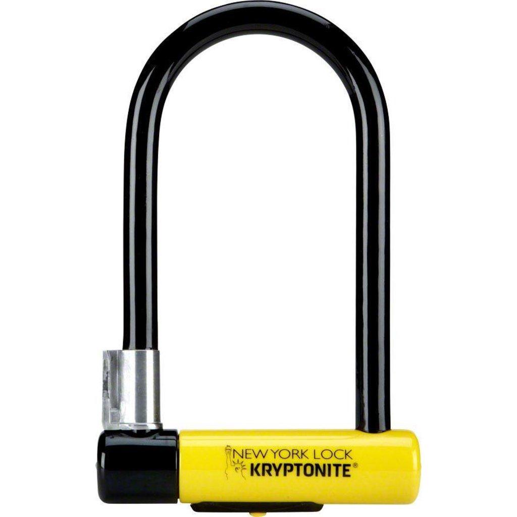 Kryptonite LOCKS U-LOCK KRYPTONITE NEW YORK STD 4x8 wBRKT (16mm x 10.2cm x 20.3cm) (H)