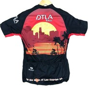 APPAREL JERSEY SUGOI DTLA Men's Evolution Short Slv Full Front Zip Medium