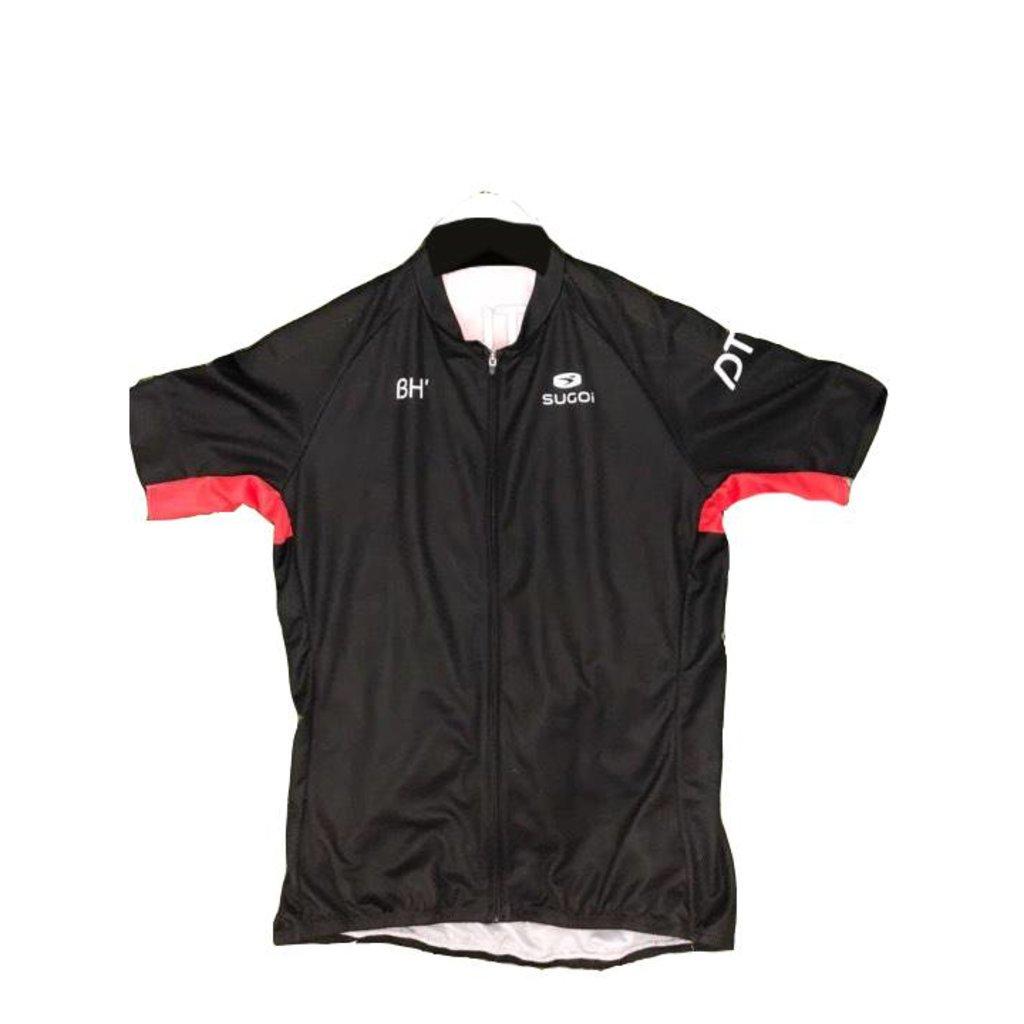 APPAREL JERSEY SUGOI DTLA Men's Evolution Short Slv Full Front Zip Large