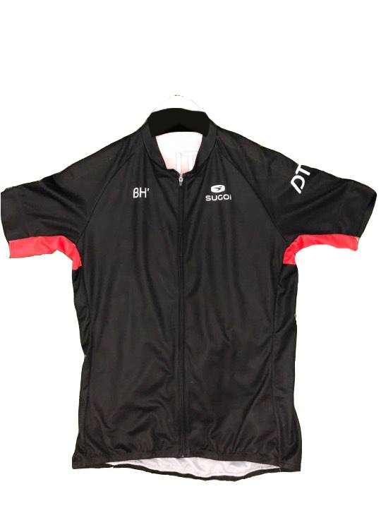 APPAREL JERSEY SUGOI DTLA Men's Evolution Short Slv Full Front Zip Small