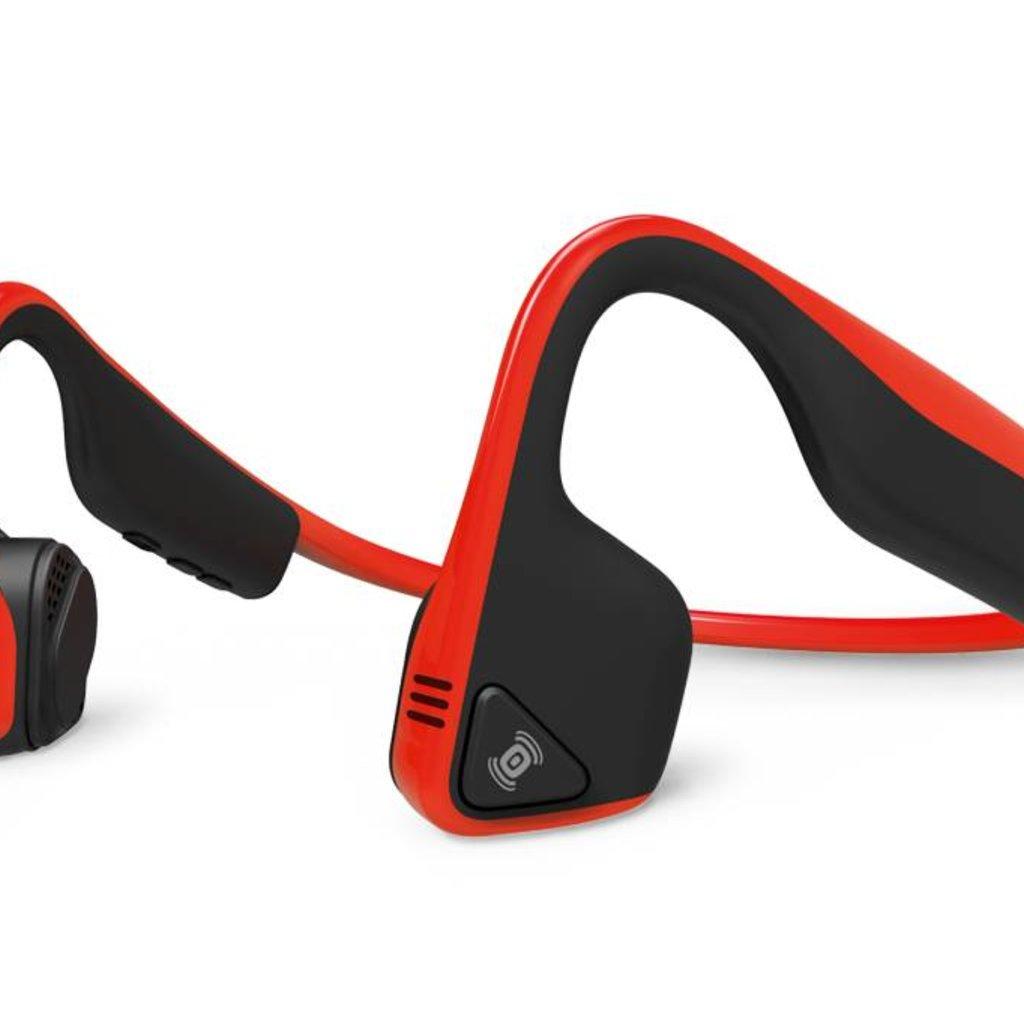HEADPHONES AFTERSHOKZ Wireless Trekz Titanium - Red