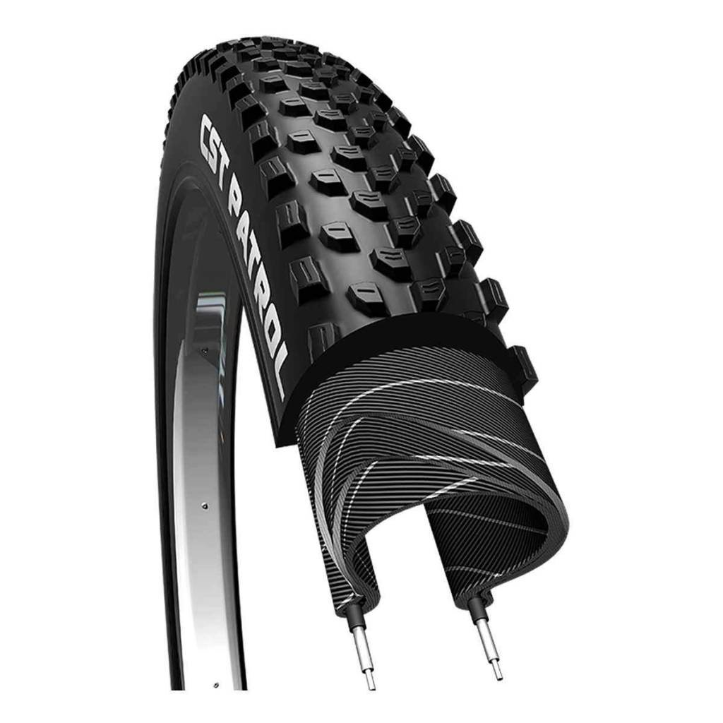 TIRES CSTP ROCK HAWK 27.5x2.4 BK/BK FOLD DC/EPS/TR