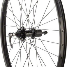 "WHEELS Quality Mountain Disc Rear Wheel 27.5"" 32h 135mm QR SRAM 406 6- bolt / WTB SX25 Black"