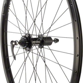 "Quality Wheels Mountain Disc Rear Wheel 27.5"" 32h 135mm QR SRAM 406 6- bolt / WTB SX25 Black"