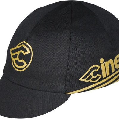 CYCLING CAP PACE SPORTSWEAR CINELLI Gold/Black