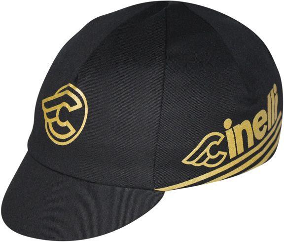 CYCLING CAP PACE SPORTSWEAR CINELLI Gold / Black