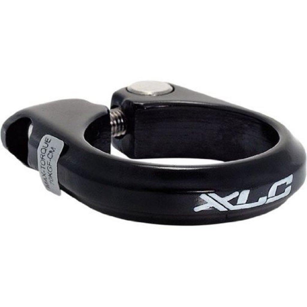 XLC ABRAZADERA de sillín XLC W/BOLT aleación negro