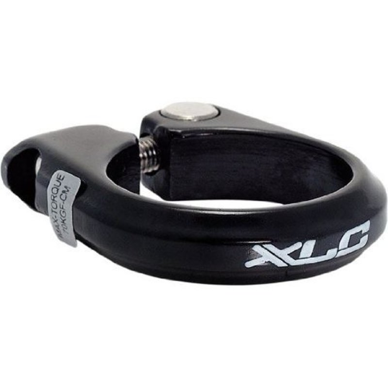 XLC SEATPOST CLAMP XLC W/BOLT ALLOY BLACK