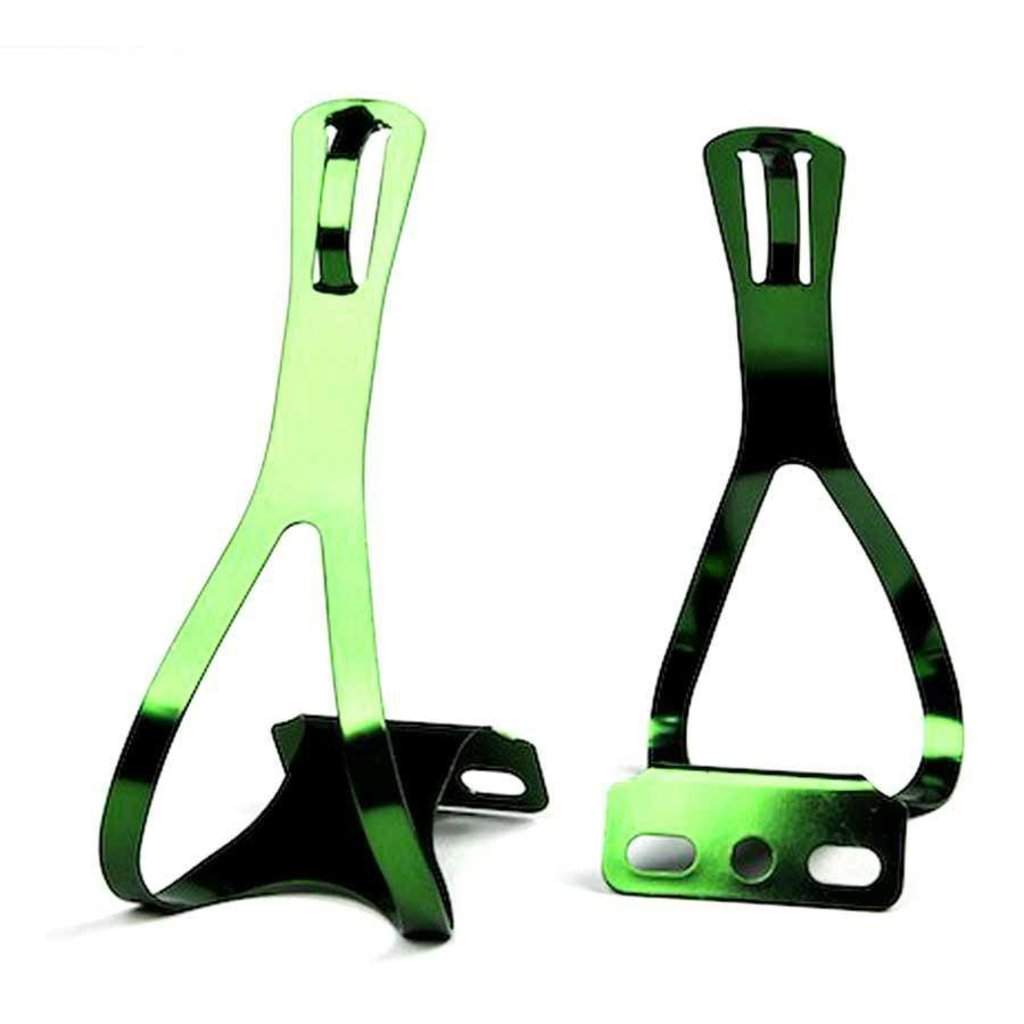 XLC TOE CAGE XLC Steel Medium Green