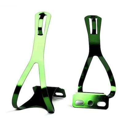 XLC TOE CAGE XLC Steel Medium Green