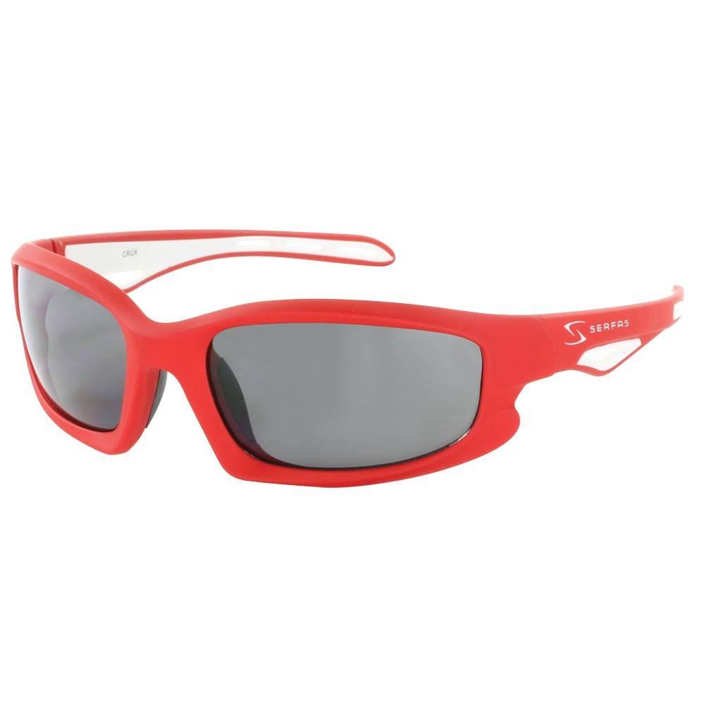 GAFAS de sol quid rojo/blanco W/lente gris
