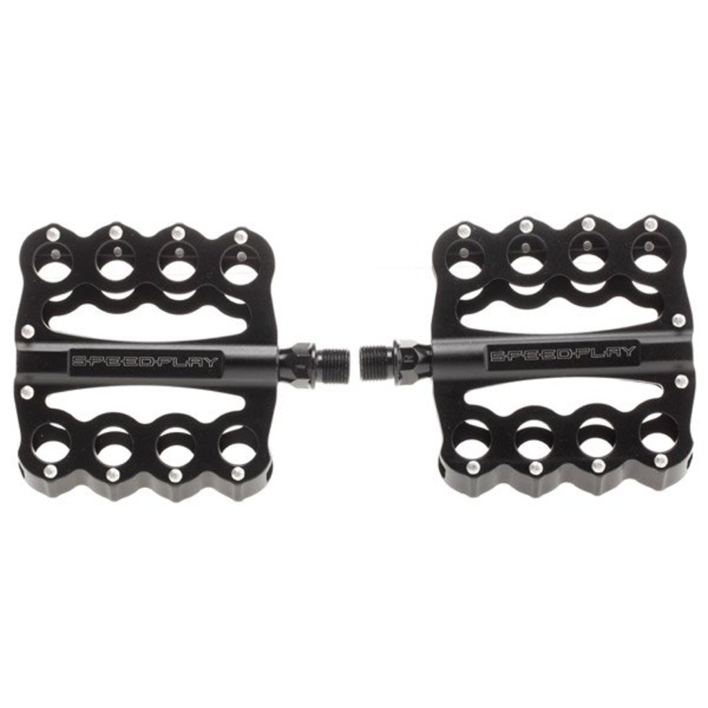 Pedals 9 16 Speedplay Brass Knuckles W Chrome Moly Spindle Black Dtla Bikes