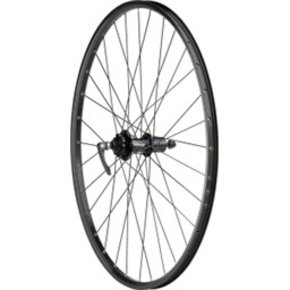 "Quality Wheels WHEELS 29"" Quality Wheels Disc REAR SRAM 406 6-bolt / Sun SR25 All Black"