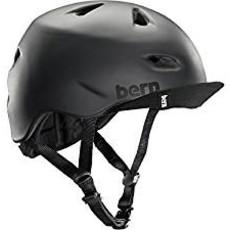 HELMET BERN Brentwood Matte Black w/ Flip Visor