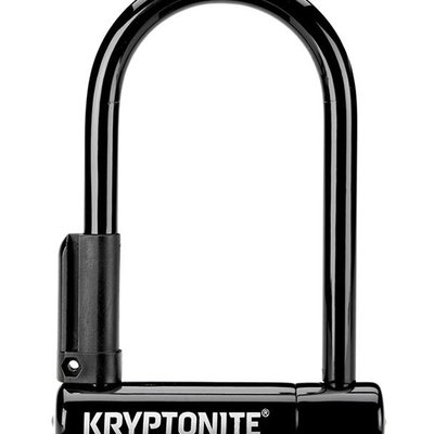 Kryptonite LOCKS U-LOCK KRYPTONITE KEEPER-12 MINI-6 3.25x6 wBRKT