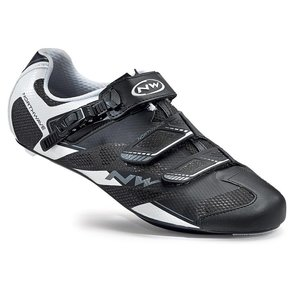 Northwave SHOES Northwave Sonic SRS BLACK/WHITE SIZE 42