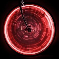 LIGHT SUNLITE WHEEL GLOW for one wheel - Red