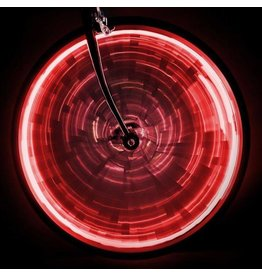 LIGHT SUNLITE WHEEL GLOW for one wheel - Red