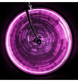 LIGHT SUNLITE WHEEL GLOW for one wheel - Pink