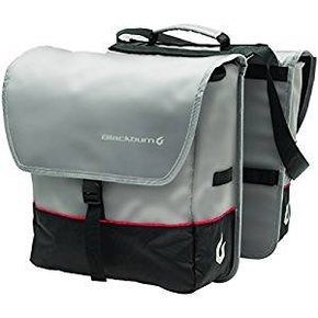 BLACKBURN PANNIER Blackburn Local Saddle Bag Pannier Black/Grey