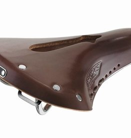 Brooks SADDLE BROOKS Team Pro Imperial - Antique Brown - W/ Hole and Laces