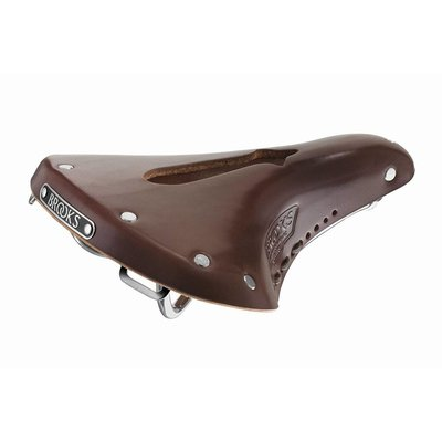 Brooks BROCHES DE SADDLE Team Pro Imperial - Antique Brown - W / Hole and Laces